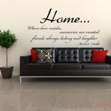 Home Where Love Resides ~ Wall sticker / decals